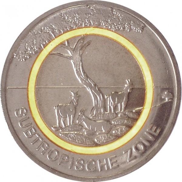 5 Euro - Subtropische Zone (G)