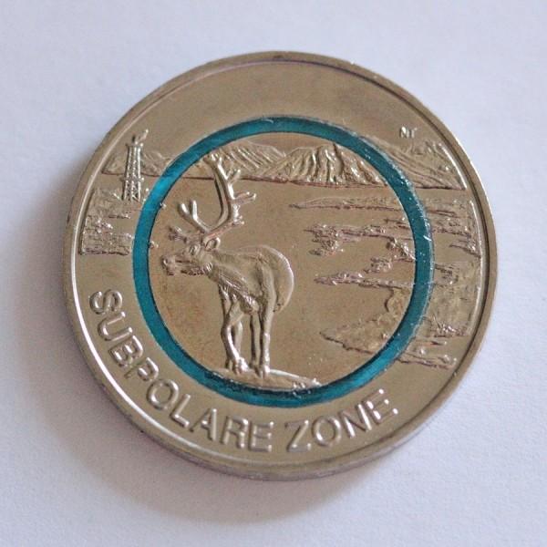 5 Euro - Subpolare Zone (F)